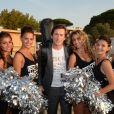 Exclusif - Thomas Dutronc qui a donné un concert - Soirée Marcel Campion sur la plage de la Bouillabaisse à Saint-Tropez le 3 aout 2017. © Rachid Bellak/Bestimage