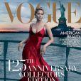 Couverture du numéro de septembre de Vogue avec Jennifer Lawrence shootée par Annie Leibovitz.