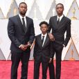 "Trevante Rhodes, Alex R. Hibbert, Ashton Sanders (""Moonlight"") - 89ème cérémonie des Oscars à Hollywood, le 26 février 2017. © Lisa O'Connor/Zuma Press/Bestimage"