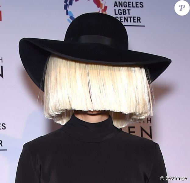 "Sia - Soirée ""An Evening With Women"" à Los Angeles. Le 16 mai 2015"
