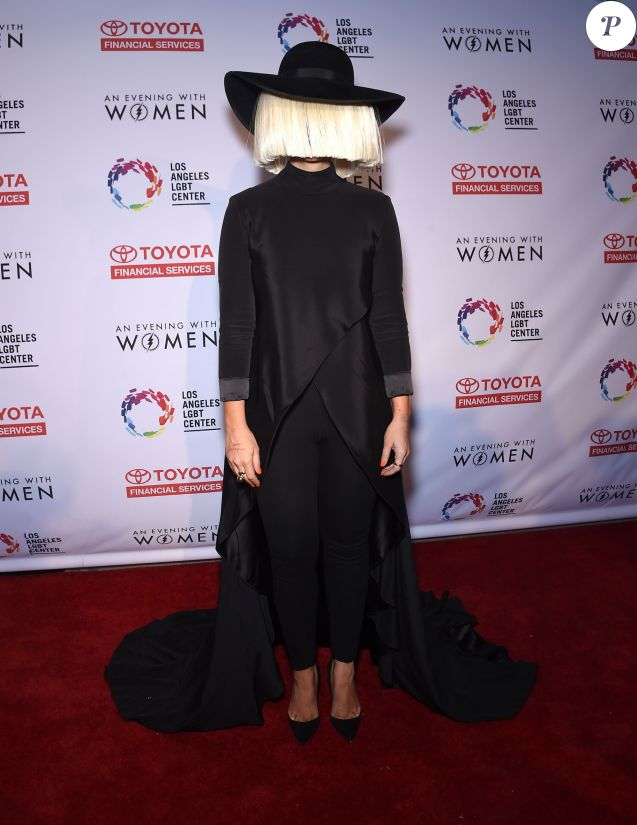 "Sia - Soirée ""An Evening With Women"" à Los Angeles. Le 16 mai 2015"
