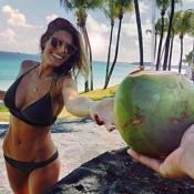 Laury Thilleman, sublime en Bikini sous le soleil de l'île Maurice