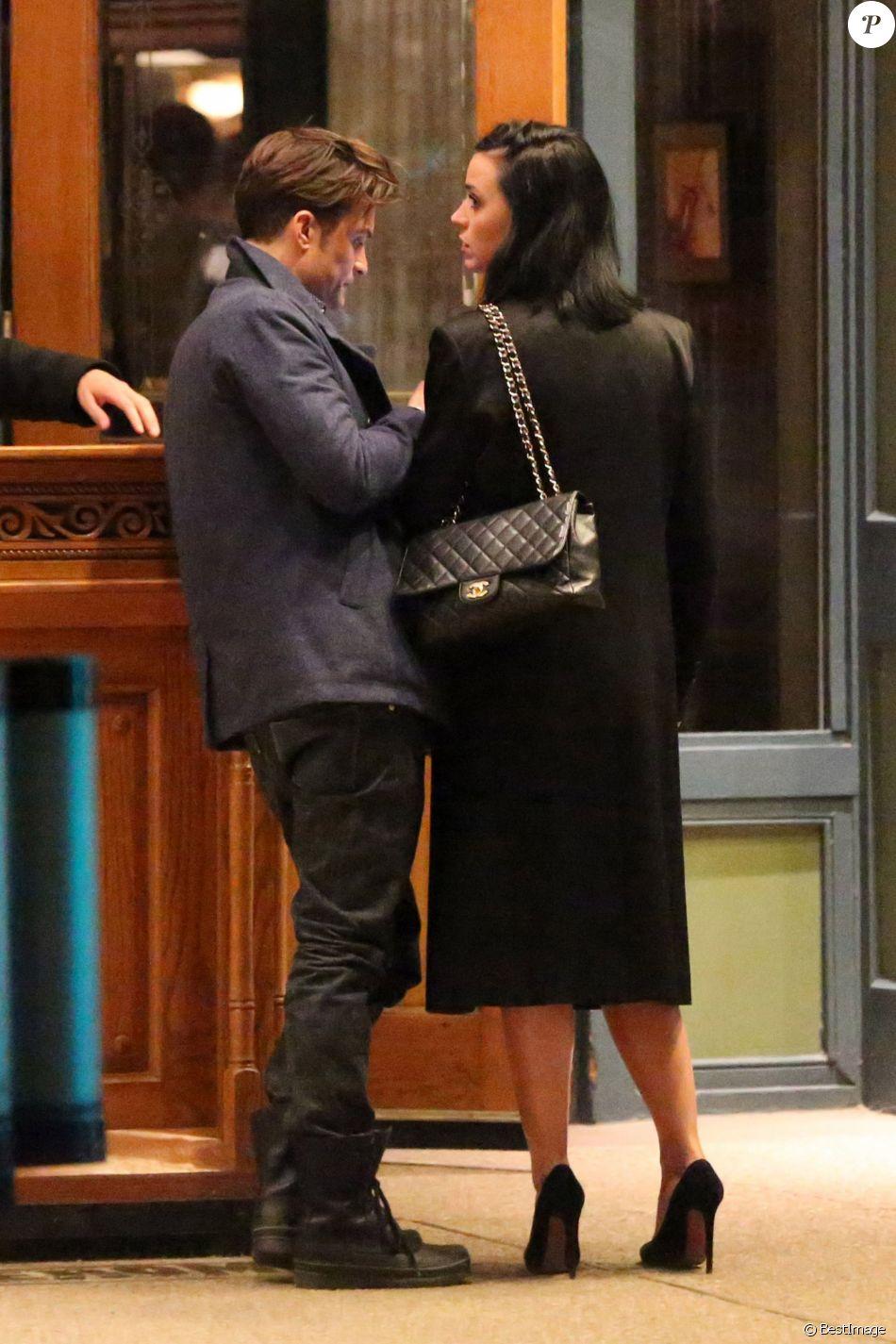 Exclusif - Le couple Katy Perry et Orlando Bloom arrivent à leur hôtel 'Jerome' à Aspen dans le Colorado pour assister au mariage de leur amie la styliste Jamie Schneider. Le 8 avril 2016