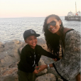Evelyn Lozada et son fils, fruit de sa relation avec Carl Crawford, photo Instagram mars 2017.