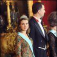 Letizia d'Espagne et Felipe le 9/02 à Madrid, plus amoureux que jamais