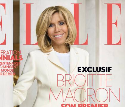 Brigitte Macron, superbe pour ELLE : Ses premières confidences depuis l'Elysée