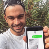 """Ricardo Pinto : Après le scandale, le jeune papa retourne """"à l'école"""" !"""