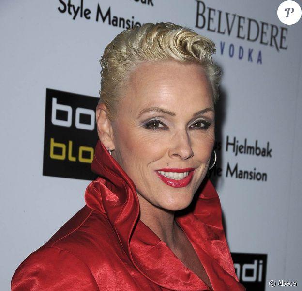 Brigitte Nielsen à la soirée Blondi Blonde Style Mansion, à Beverly Hills. 09/02/09