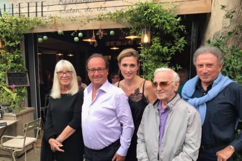 Julie Gayet et François Hollande côte-à-côte pour dîner avec Michel Drucker
