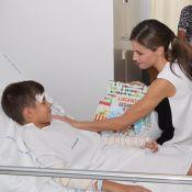 Letizia et Felipe d'Espagne : Au chevet des victimes des attentats