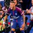 Neymar Jr. - Match de Ligue 1, Paris Saint-Germain (PSG) vs Toulouse FC (TFC) au Parc des Princes à Paris, France, le 20 août 2017. Le PSG a gagné 6-2. © Nikola Kis Derdei/bestimage