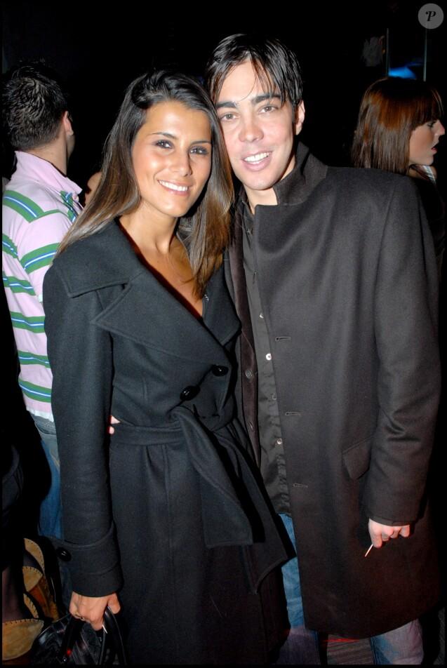 Gregory Lemarchal et Karine Ferri - Soirée au Ciné Aqua pour les 2 ans de la chaine NRJ12 et le lanchement de NRJ Hits à Paris.