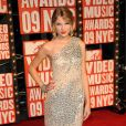 Taylor Swift à la cérémonie des MTV Video Music Awards organisée au Radio City Music Hall de New York le 13 septembre 2009.