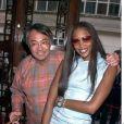 David Tang et Naomi Campbell en avril 2001 à Londres lors d'une soirée lors d'une soirée de la marque Shanghai Tang.