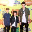 "Romeo, Cruz et Brooklyn Beckham - ""Nickelodeon's 28th Annual Kids' Choice Awards"" à Inglewood, le 28 mars 2015."