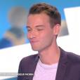 """Louis Morin dans """"Touche pas à mon poste"""", le 4 septembre 2017."""