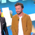 """Tom Villa dans """"Touche pas à mon poste"""" sur C8. Le 4 septembre 2017."""