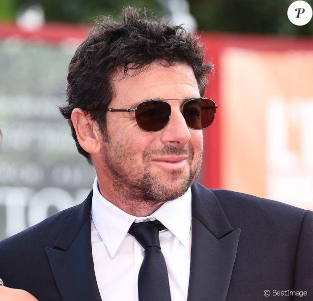 """Patrick Bruel à la première de """"Una Famiglia"""" au 74ème Festival International du Film de Venise (Mostra), le 4 septembre 2017"""