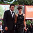 """Micaela Ramazzotti, Patrick Bruel à la première de """"Una Famiglia"""" au 74ème Festival International du Film de Venise (Mostra), le 4 septembre 2017"""