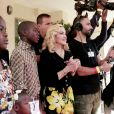 Madonna a inauguré le Mercy James Institute for Pediatric Surgery and Intensive Care au Malawi, le mardi 11 juillet 2017