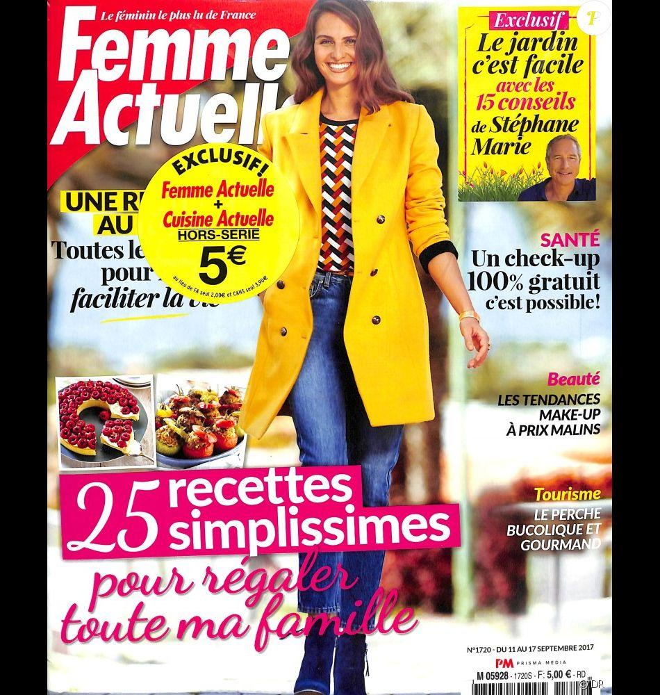 Le Magazine Femme Actuelle Du 11 Septembre 2017 Purepeople