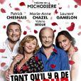 La pièce de théâtre Tant qu'il y a de l'amour, au théâtre de la Michodière (Paris)