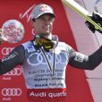 Alexis Pinturault en mars 2017 à Aspen lors de la Coupe du monde de ski alpin.