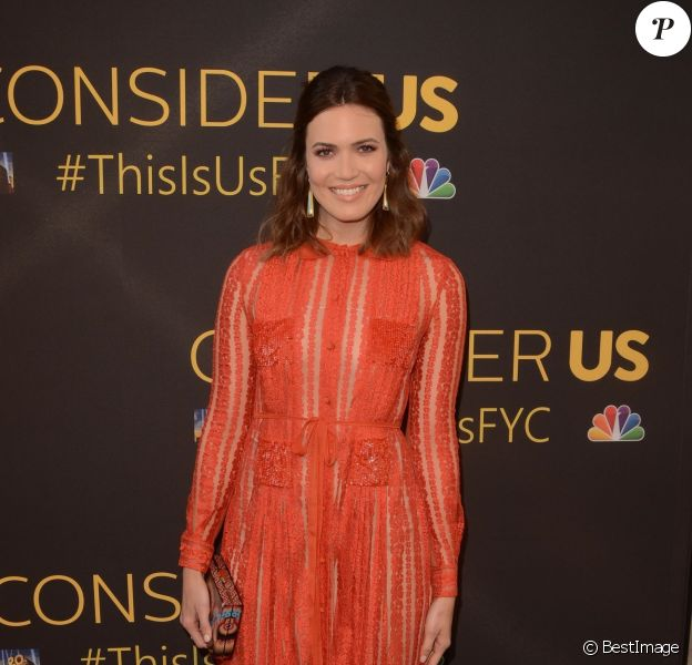 Mandy Moore à la soirée 'This Is Us' au 20th Century Fox au studios de Paramount à Hollywood le 14 août 2017