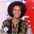 """Shy'm parle de son compagnon Benoît Paire sur le plateau de l'émission """"C à vous"""" le 1er septembre 2017"""