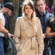 Selena Gomez sur le tournage du film de W. Allen dans les rues de New York, le 11 septembre 2017