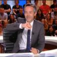 """Yann Barthès dans """"Quotidien"""" sur TMC le 13 septembre 2017."""