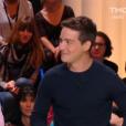 """Martin Weill et Louise Bourgoin réunis dans """"Quotidien"""" sur TMC le 13 septembre 2017."""