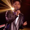 """""""Lisandro dans """"The Voice 6"""" le 13 mai 2017 sur TF1."""""""