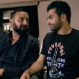 """""""Nazim en studio avec Cyril Hanouna, qui prend son rôle très au sérieux, pour son single Pourquoi veux-tu que je danse ?, extrait de son premier album à paraître. Du grand délire !"""""""