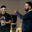 """""""Nazim en studio avec Cyril Hanouna pour son single Pourquoi veux-tu que je danse ?, extrait de son premier album à paraître. Du grand délire !"""""""