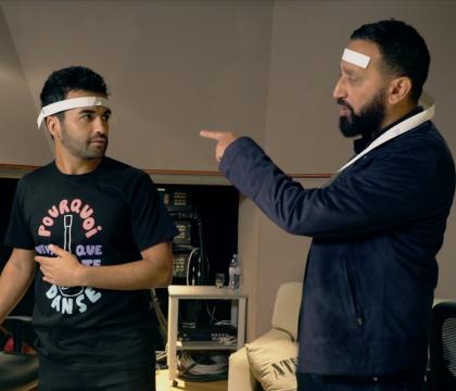 Nazim en studio avec Cyril Hanouna: Le hitmaker en voit de toutes les couleurs !