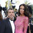 """Arnaud Lagardère et sa femme Jade - Montée des marches du film """"Les Proies"""" (The Beguiled) lors du 70ème Festival International du Film de Cannes. Le 24 mai 2017. © Borde-Jacovides-Moreau/Bestimage"""