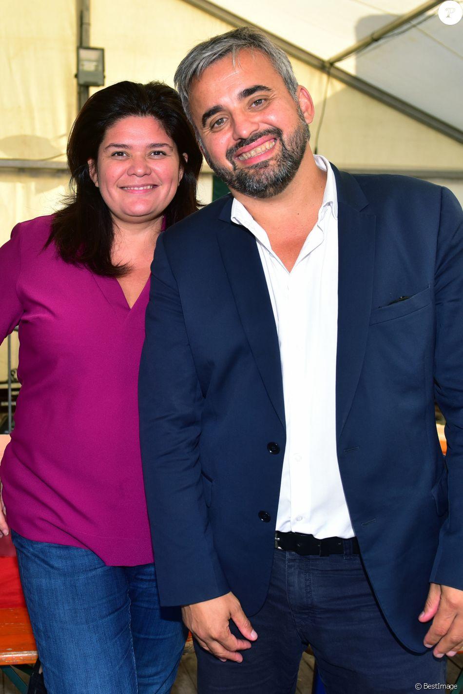 Exclusif - Raquel Garrido et Alexis Corbière - Deuxième jour de la Fête de l'Humanité au parc de la Courneuve le 16 septembre 2017. © Giancarlo Gorassini/Bestimage