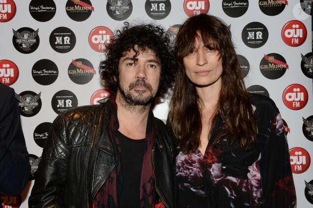 Caroline de Maigret et son compagnon Yarol Poupaud - Le 6ème anniversaire du Bus Palladium à Paris, le 17 mars 2016. © Rachid Bellak/Bestimage