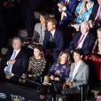 Le prince Harry était installé à côté de Melania Trump lors de la cérémonie d'ouverture de ses 3e Invictus Games, le 23 septembre 2017 à Toronto. Sa compagne Meghan Markle était bien présente, dix-huit rangs derrière.