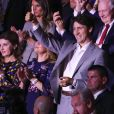 Le premier ministre du Canada Justin Trudeau - Cérémonie d'ouverture des Invictus Game à Toronto. Le 23 septembre 2017  Opening ceremony of the Invictus games in Toronto 23 September 2017.24/09/2017 - Toronto