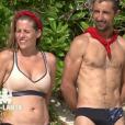 """Mélanie et Sébastien - """"Koh-Lanta Fidji"""" sur TF1. Le 29 septembre 2017."""