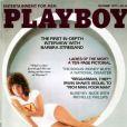 Barbra Streisand en couverture de Playboy, en 1977.