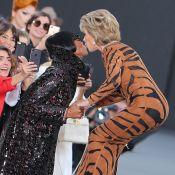 Jane Fonda : Bisou avec Naomi Campbell au défilé L'Oréal !