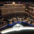 """Illustration de la ville de Las Vegas, 2016. Ici le Bellagio."""