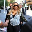 """""""Mariah Carey et son compagnon Bryan Tanaka sortent de leur hôtel à Toronto, le 24 août 2017."""""""