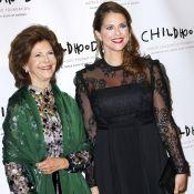 Princesse Madeleine : Enceinte et sublime au côté de sa mère à New York