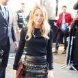 """Laura Smet - Arrivées au défilé de mode printemps-été 2018 """"Chanel"""" au Grand Palais à Paris. Le 3 octobre 2017 © CVS-Veeren / Bestimage"""