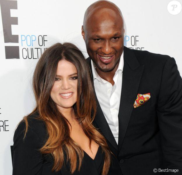 """Khloé Kardashian, Lamar Odom - Soirée """"E! Pop Culture"""", à New York le 30 avril 2012."""