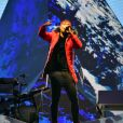 """Soprano en concert au Stade Vélodrome dans le cadre de sa tournée """"Everest Tour"""". Marseille, le 7 octobre 2017. © Bruno Bebert/Bestimage"""